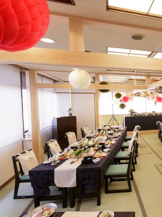 中松屋旅館 披露宴会場画像1-1