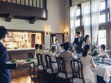 ルグラン軽井沢ホテル&リゾート:全ての会場にはテラスやガーデンつき