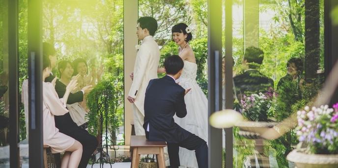 VICTORIA GROVE 小さな森の結婚式×教会での本格挙式画像1-1