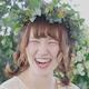 花嫁さん大きな笑顔
