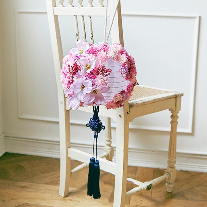 ウエディングブーケ ボールブーケ 手作り 造花