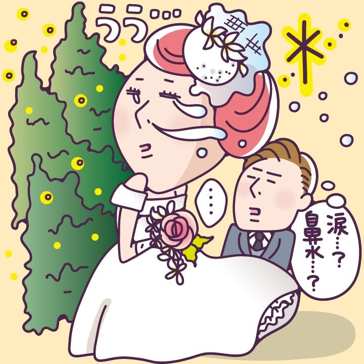 まずは季節を選ぼう!花粉症花嫁の挙式日選び