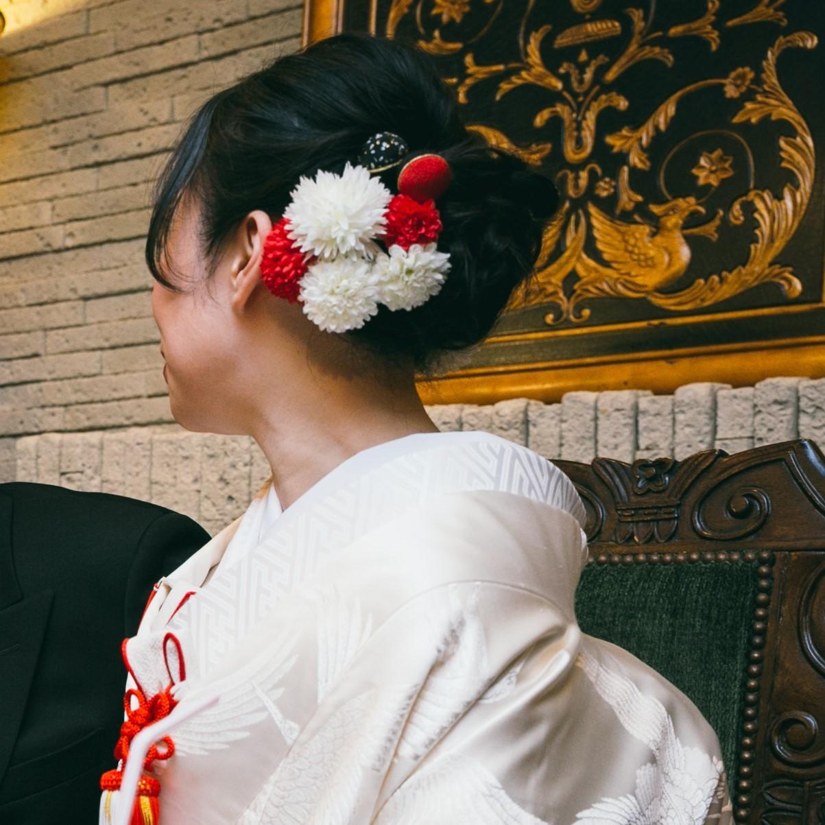 花嫁顔写真