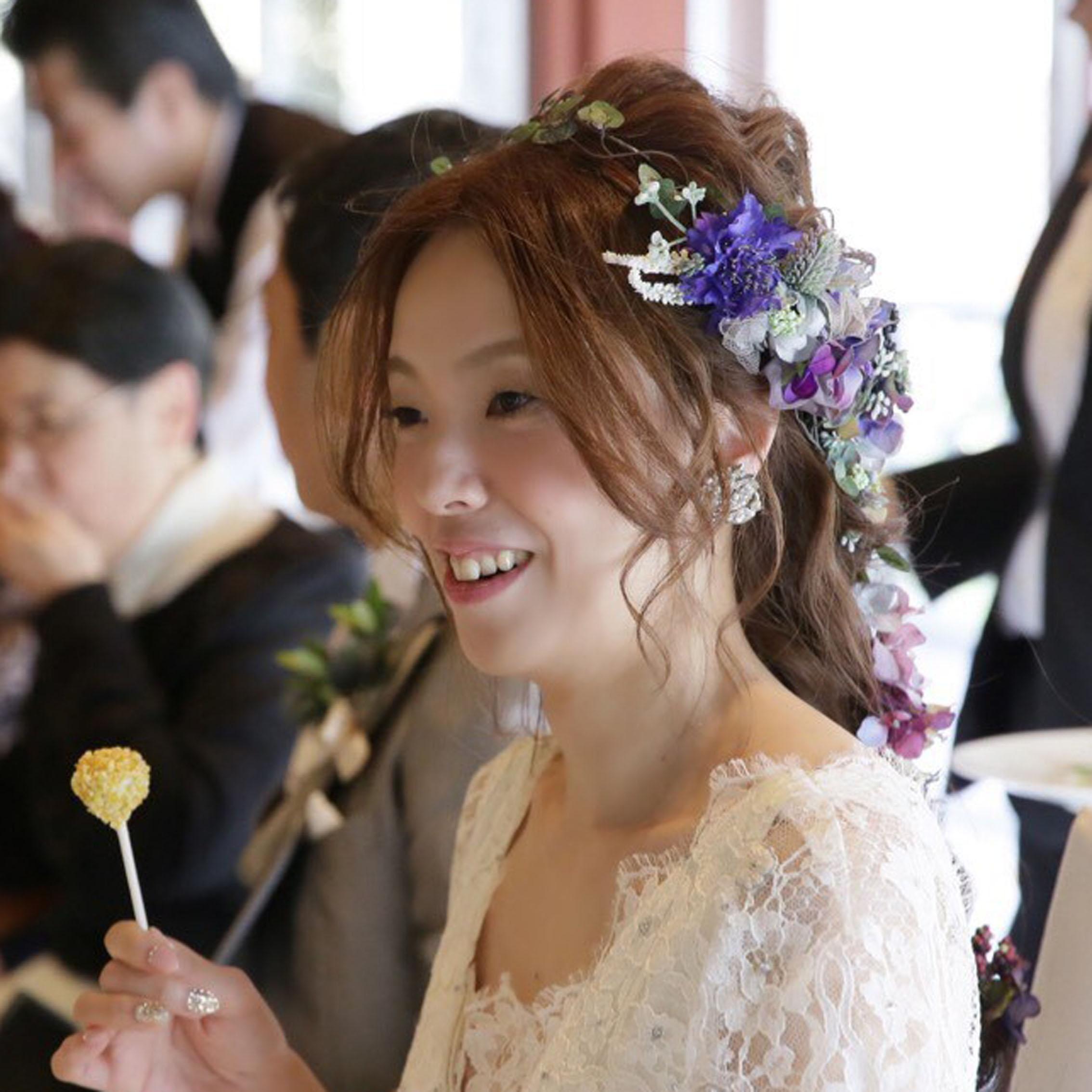 DIY花冠花嫁