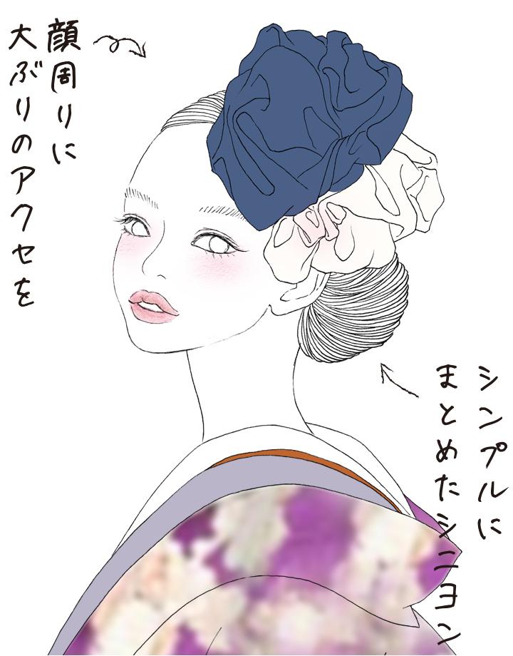 「凛と」for 丸顔さん