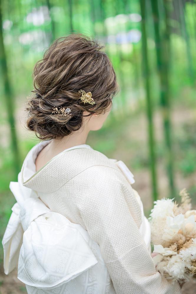 和装 髪型 花嫁ヘア ブライダルヘア