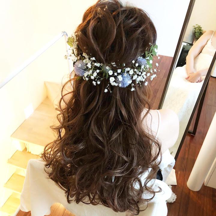 エアリーな花冠