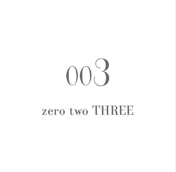 zero two THREEのロゴ画像
