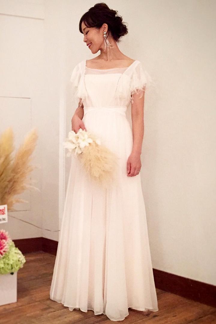 PEACOCK BRIDE様のドレス