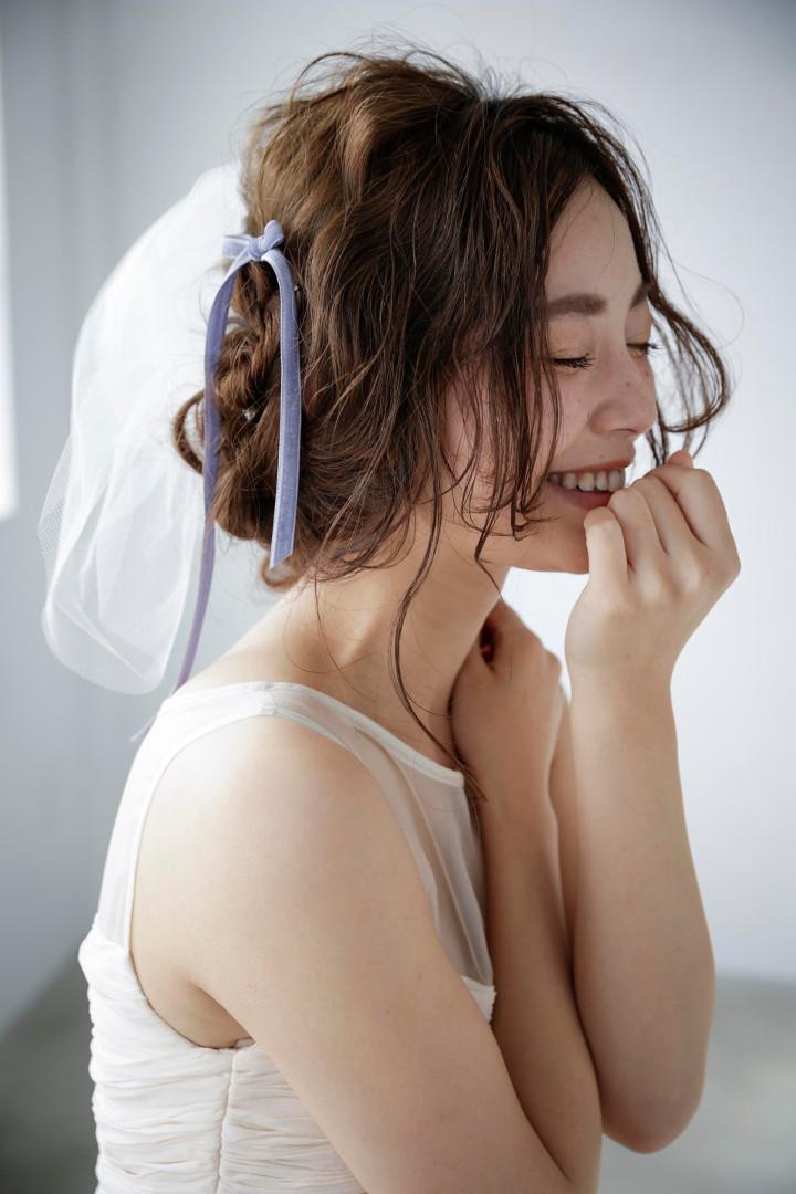 ベロアのヘア飾りについて