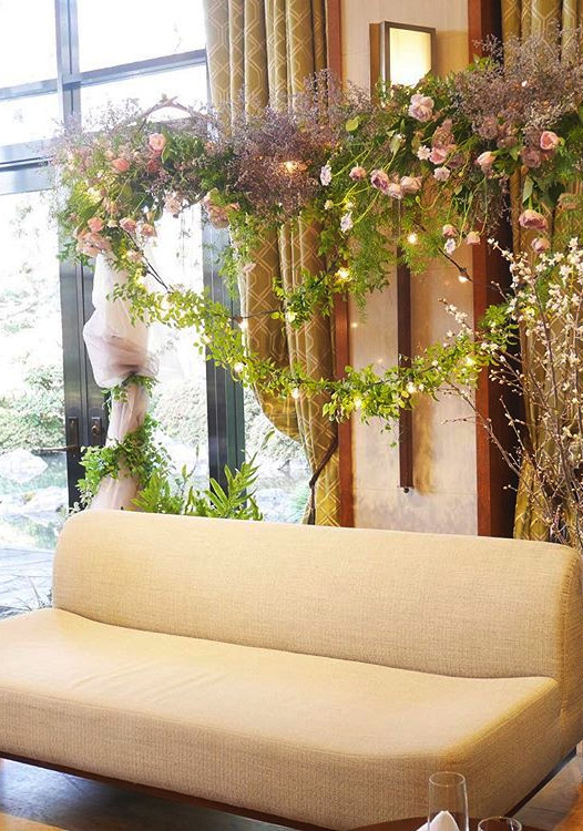 【01/ROSE PINK】 屋内・外で映えるピンクを使い分け