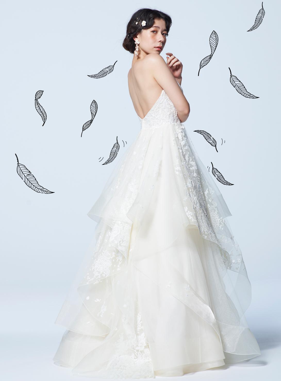 ショートビスチェドレス