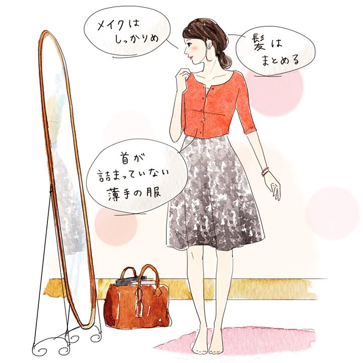 試着時の服装