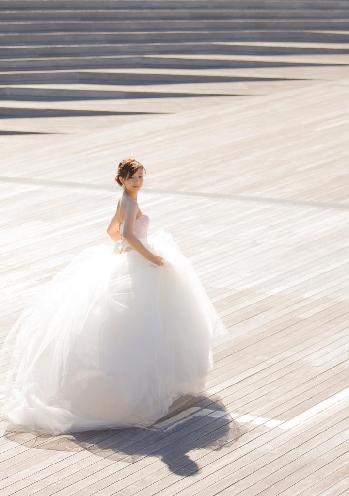 ふんわりドレス写真