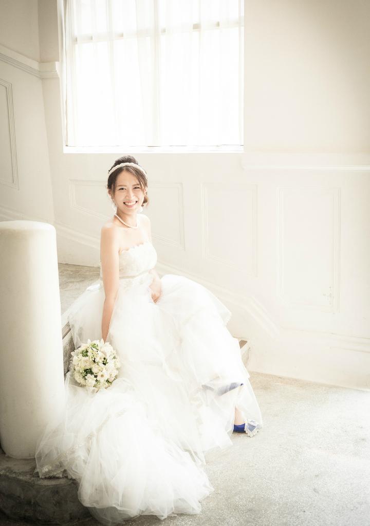 hinaさん2枚目のドレス写真