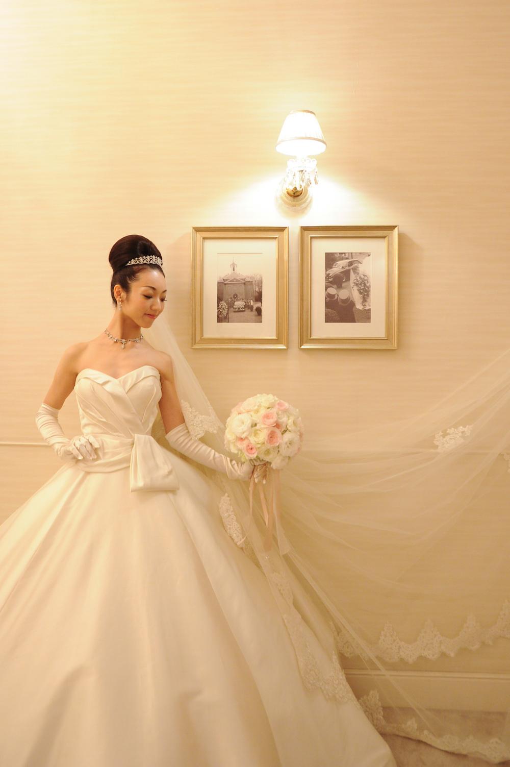 @yumikoyagiokaさんウエディングドレス
