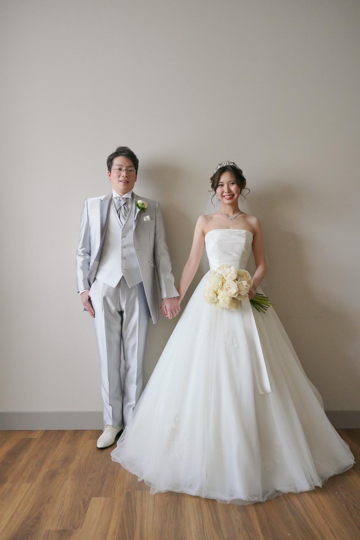 @yuzuki08さんウエディングドレス