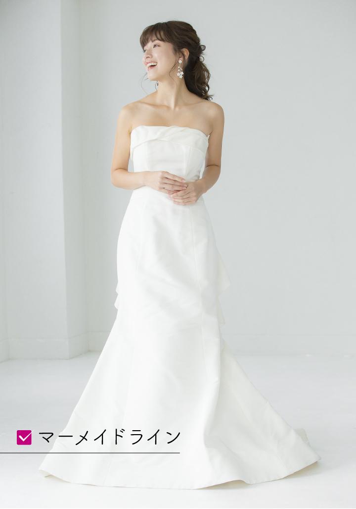 ドレス35万6,400円(レンタル価格)/ジャド・ワデール(MIRROR△MIRROR)