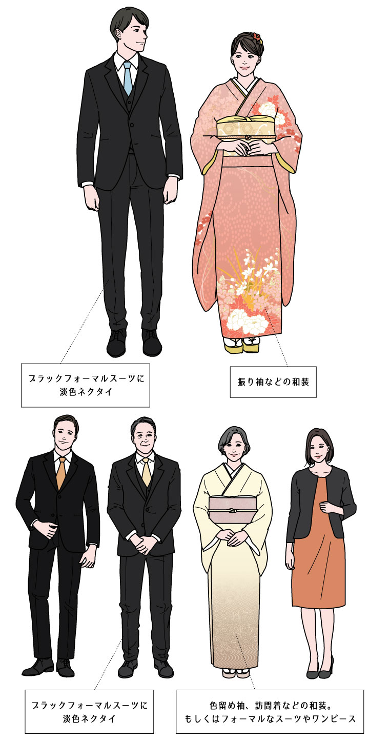 顔合わせ食事会 結納 服装 和装 着物