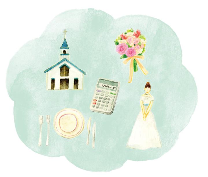 結婚式をイメージさせるアイテム