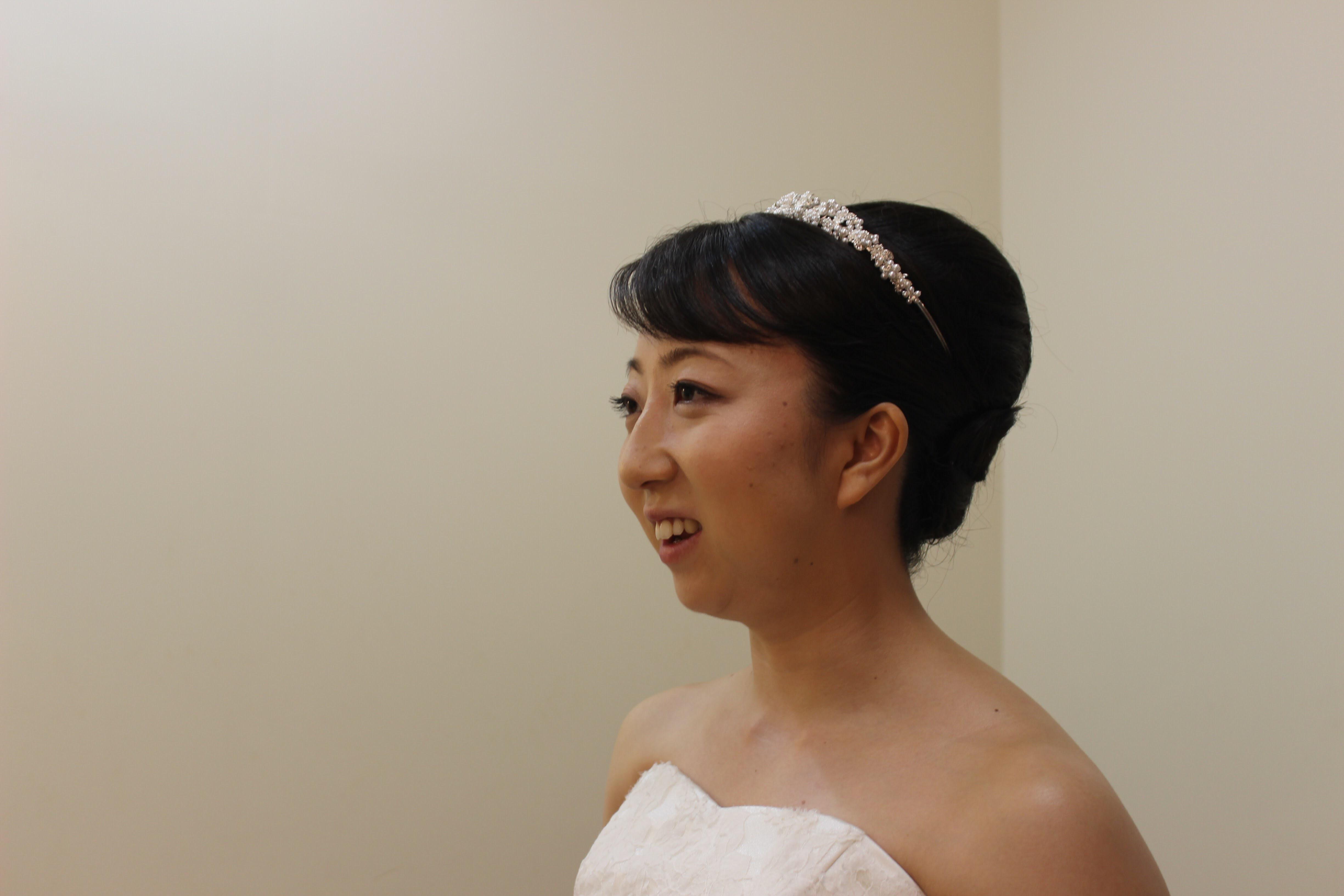 先輩花嫁さんのお写真