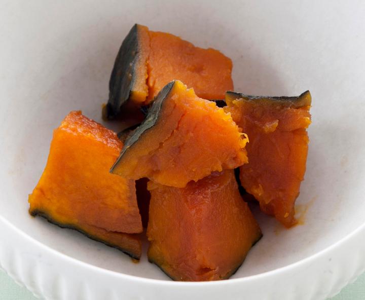 普通のしょうゆで煮たかぼちゃ