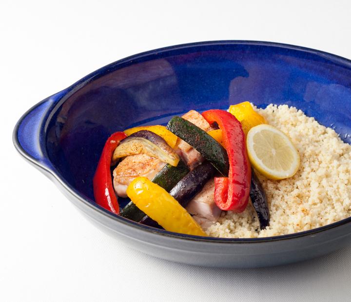 クスクスと野菜のグリル