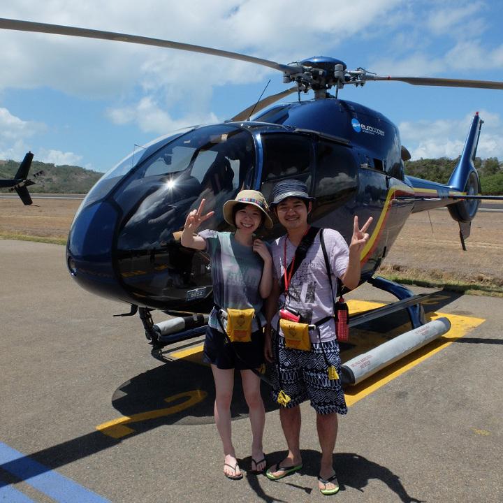 GBR貸し切りヘリコプター