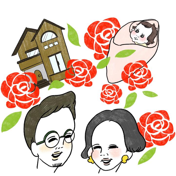 計画的に家計も貯畜も実行。「バラ色の未来家計」
