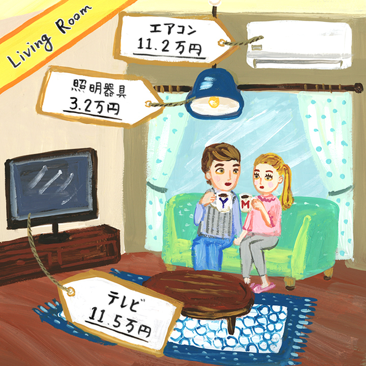 3.家電製品の購入にかかるお金