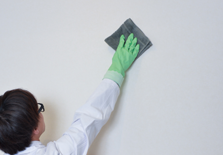 <1>まずは壁拭きから始めよう