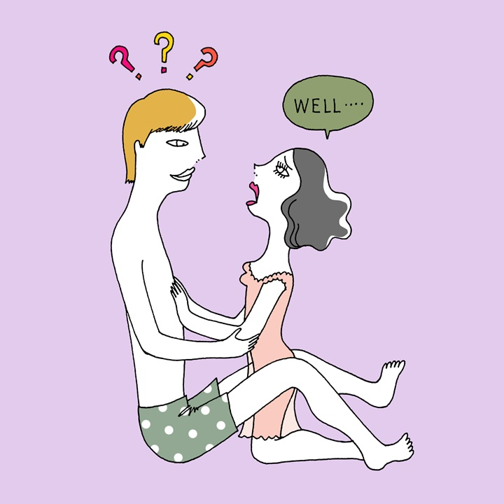 SEX中、彼に「してほしいこと」を伝えるには?