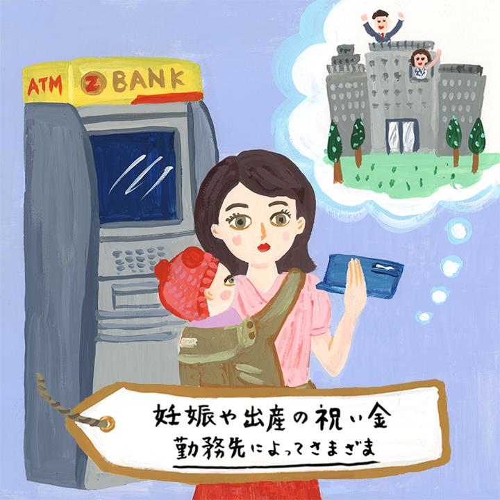 3. 【妊娠・出産時】に勤務先からもらえるお金