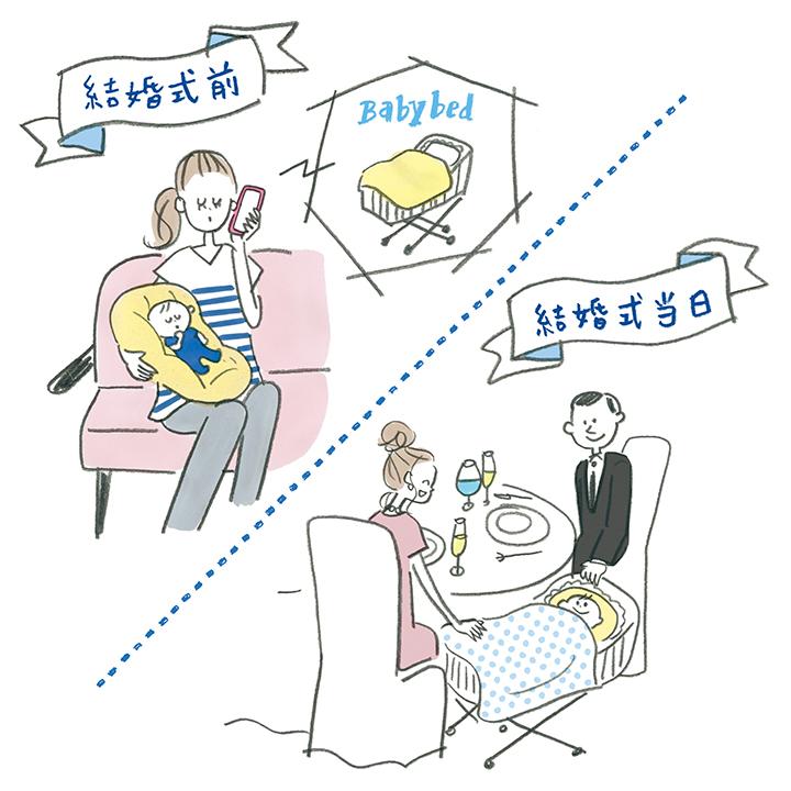 Q.妊娠中や子ども連れで出席する際、気を付けておきたいマナーは?