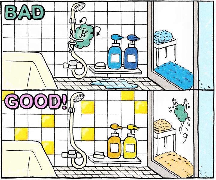 バスルームイラスト