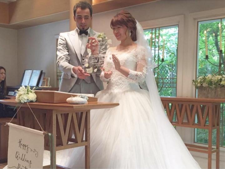 オリジナルの結婚証明書