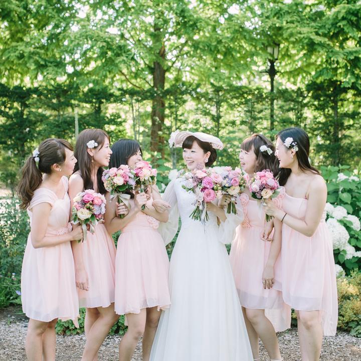 ブライズメイドと花嫁