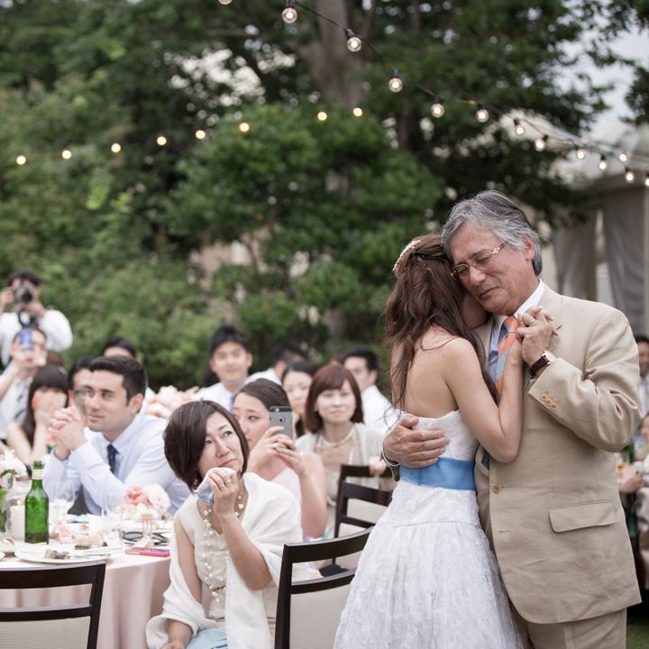 父と花嫁のラストダンス