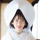 綿帽子の花嫁さん