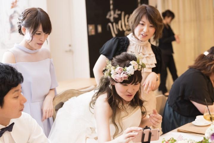 スマホと花嫁