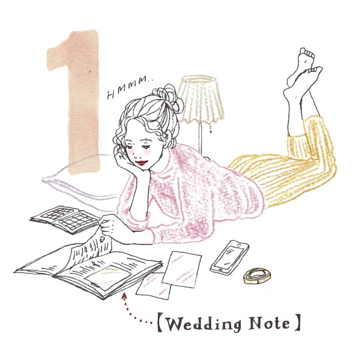 プレから花嫁になる5つの科目
