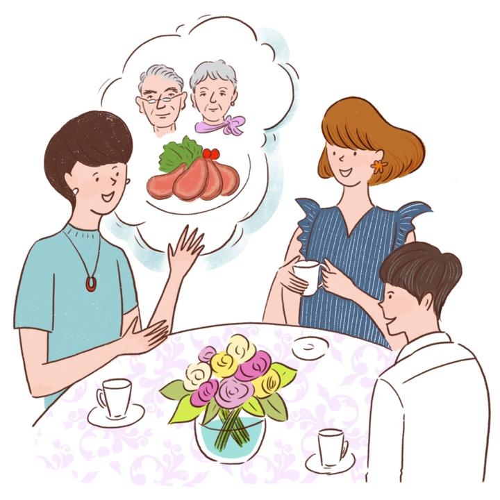 ママと食事会