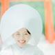 花嫁さん白無垢で笑顔