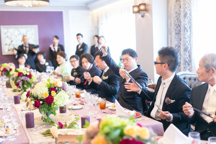 家族だけの結婚式