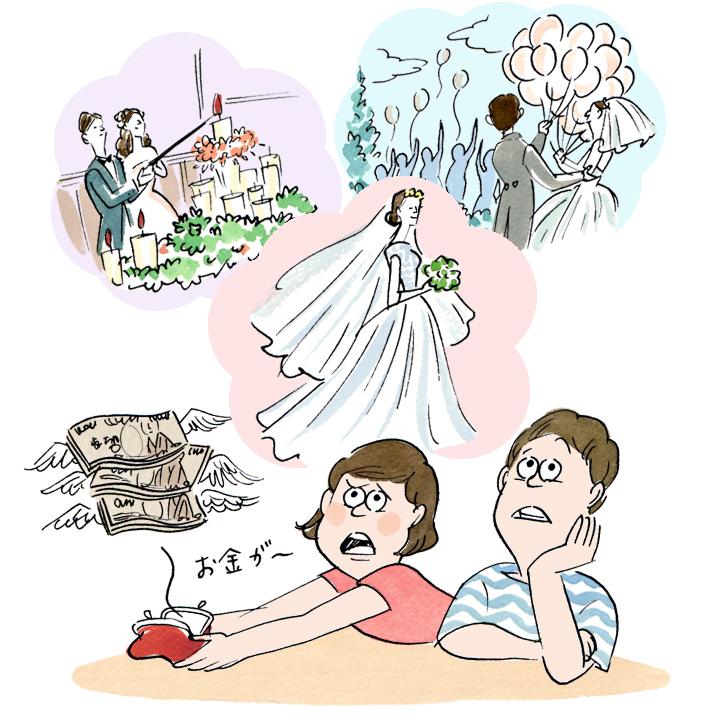 結婚資金として、ふたりの持ち出し金はいくら準備する必要があった?