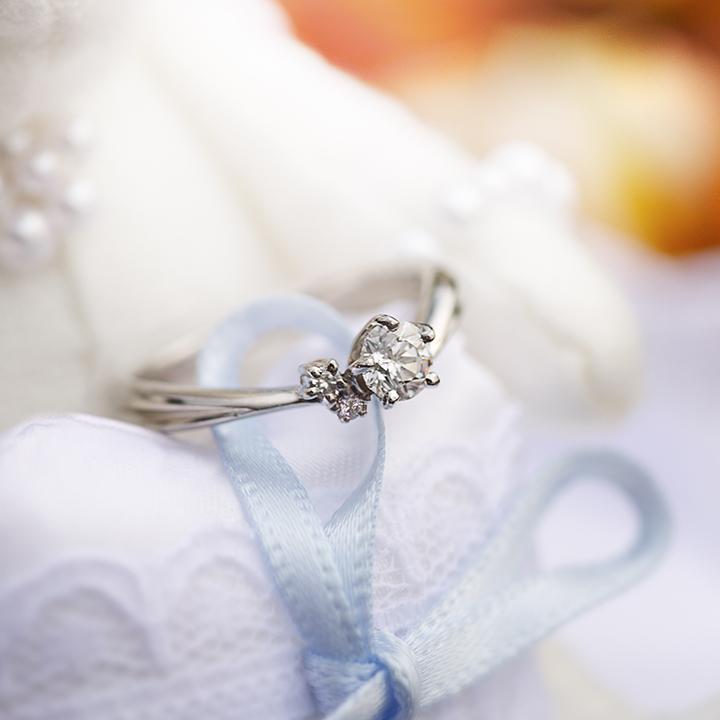 Tさんの婚約指輪