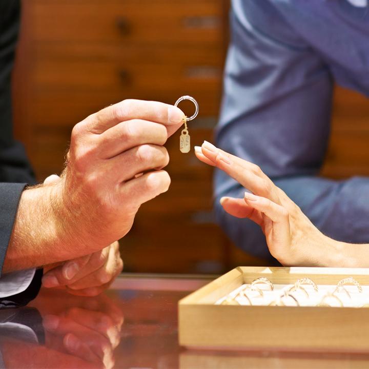 指輪接客イメージ