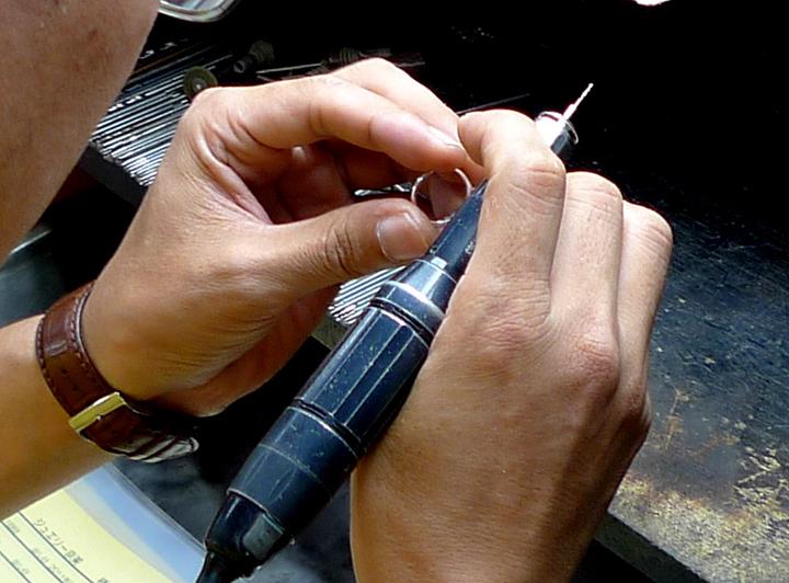 【メンテナンス3】 リングのゆがみを修理