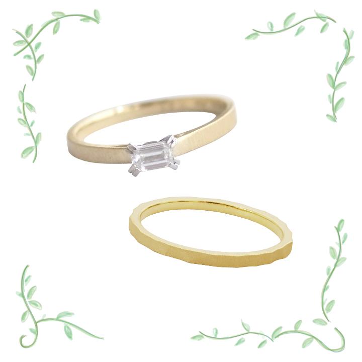 上質シンプル指輪