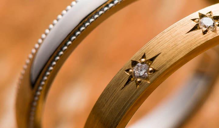 銀座ダイヤモンドシライシのリング